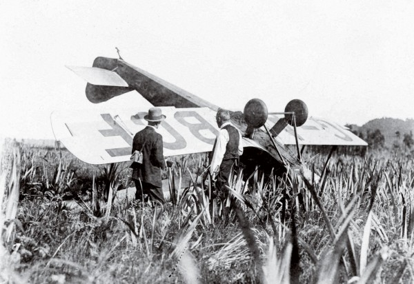 "Aviators first learned about the challenges of West Coast flying when Australian Guy Menzies ""landed"" in January 1931."