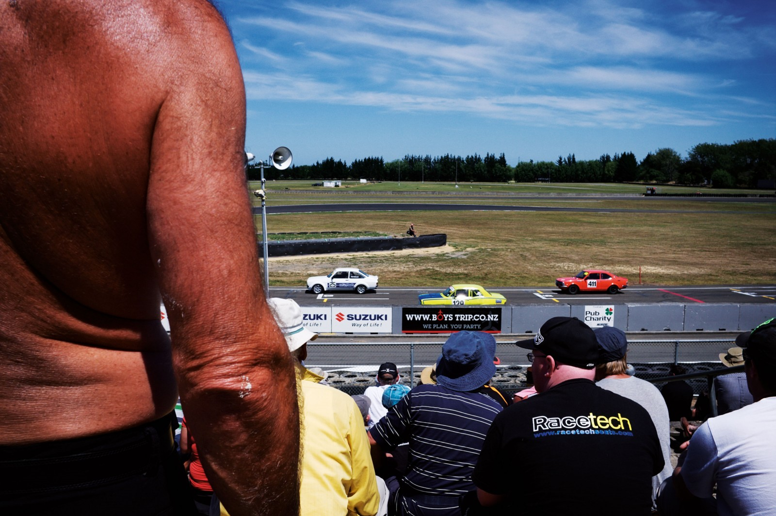 The New Zealand Grand Prix has been raced since 1950—one of only two grand prix races in the world outside the Formula 1 banner—and is now the signature race of the Toyota Racing Series. Sunday racing at Manfeild, Feilding, draws the biggest crowds, and includes races in other classes—from the entry-level Formula Ford to the NZV8 Championship—that precede the main event.