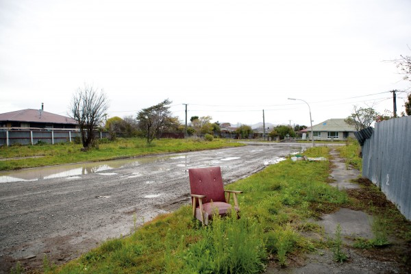 Once brimming with life, tectonic forces exposed the low-lying and swampy nature of many of Christchurch's eastern areas. When the residents moved out, nature moved in, leaving an eerie emptiness to the shattered streetscape in Bexley.