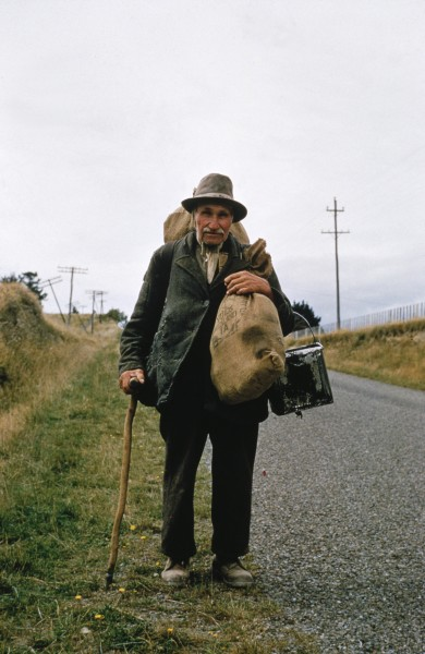 """""""I say, 'To hell with work and worry.' I go on the road."""" So said Barret Crumen, a.k.a. Russian Jack, who was a familiar sight in the lower North Island with his swag, square billy and slouch hat. He always carried a couple of tins of dripping, which he used to rub into his chest """"to keep away itches. """""""