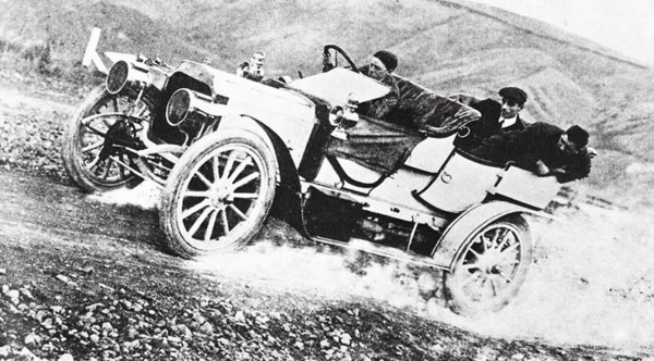 "Motorsport—in the form of reliability trials—had begun in 1906, and ""Old Blue,"" a 20 hp blue Vauxhall, was a stand-out competitor in the Christchurch area in the years before the First World War."