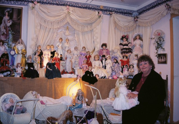 Another nearby attraction is Christina Little's Gallery of Dolls, featuring thousands of dolls she has dressed.