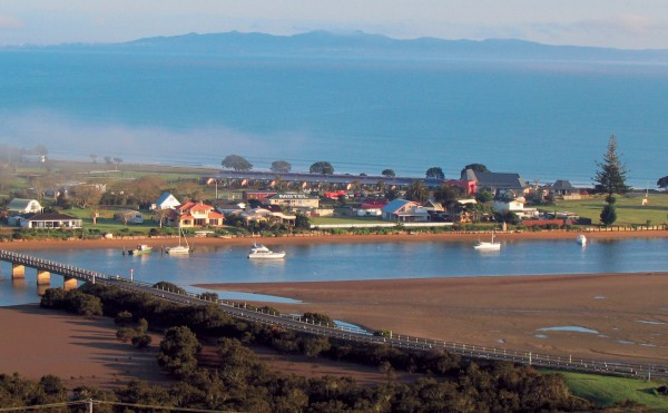 This site of this upmarket development at Taipa in Northland was once a large campground, as busy in summer as Otamure Bay, north Whananaki.