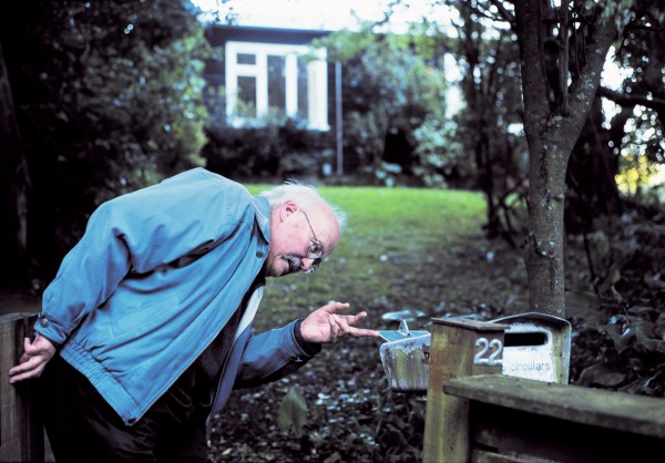 """Nothing for me, but three letters for Douglas!"" Lyell Cresswell investigates the letterbox at Lilburn's former residence, home to the composer and his wife Catherine during his stint as 2006–07 Creative NZ-NZ School of Music Composer in Residence. Of his graphic scores, composed for Jack Body's 50th birthday, he says: ""There is no artistic, communicative, logical, coherent, meaningful, cogent, enchanting, devotional, seditious, wholesome, misanthropic, didactic, perverse, perverted, succulent, organic or, indeed, carnivorous basis, or reason for their existence""."