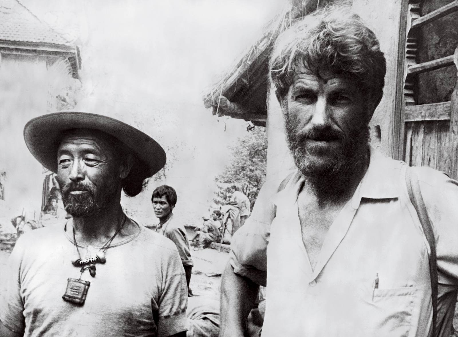 Hillary and Tenzing had both logged a lot of high-altitude time in the Himalayas prior to their historic climb—Hunt's expedition was Tenzing's seventh to Everest. After their successful ascent there was intense speculation—bordering on controversy—over who stepped on the summit first. Both climbers stressed repeatedly that it was a team effort.