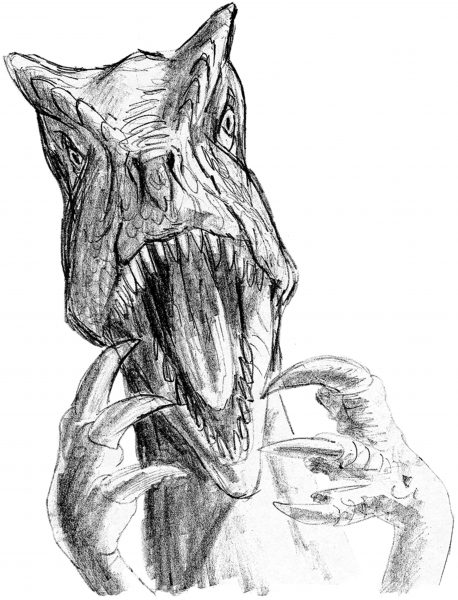 Dino-drawing