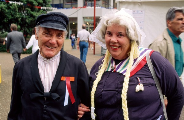 "For the Dutch, 1992 has been a year of ""coming out"". Whether that means attaching cotton braids to your hair or cycling in clogs and full costume, the country has enjoyed the spectacle. Geweldig!"