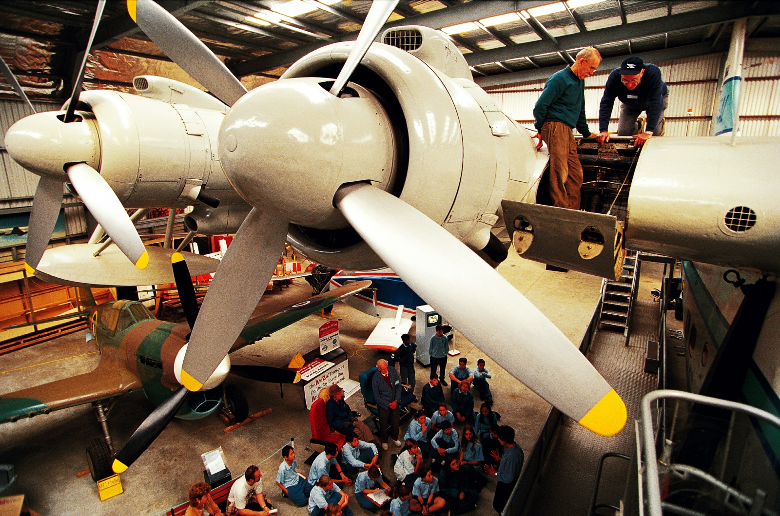 Aranui's four Bristol Hercules engines gave her a cruising speed of 322 kph, cutting the average Tasman crossing to six-and-a-half hours. Many children today will have completed the journey in half that time, but school visits to the MOTAT hangar impress younger generations with a taste of magic long lost to international air travel.