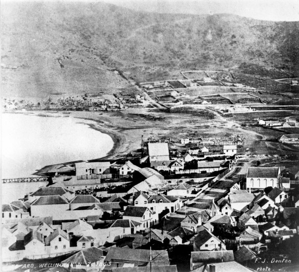 Along the south coast of Wellington, many tidal rocks were hoisted above high-tide mark, and inside the harbour the Huriwhenua Flat at Te Aro (opposite) was lifted high and dry. Once considered a possible site for a dock, the land eventually became the Basin Reserve sportsground. On the south side of the strait, around Blenheim, land subsided by a metre or so, as can be seen by comparing the two hydrographic charts at right.
