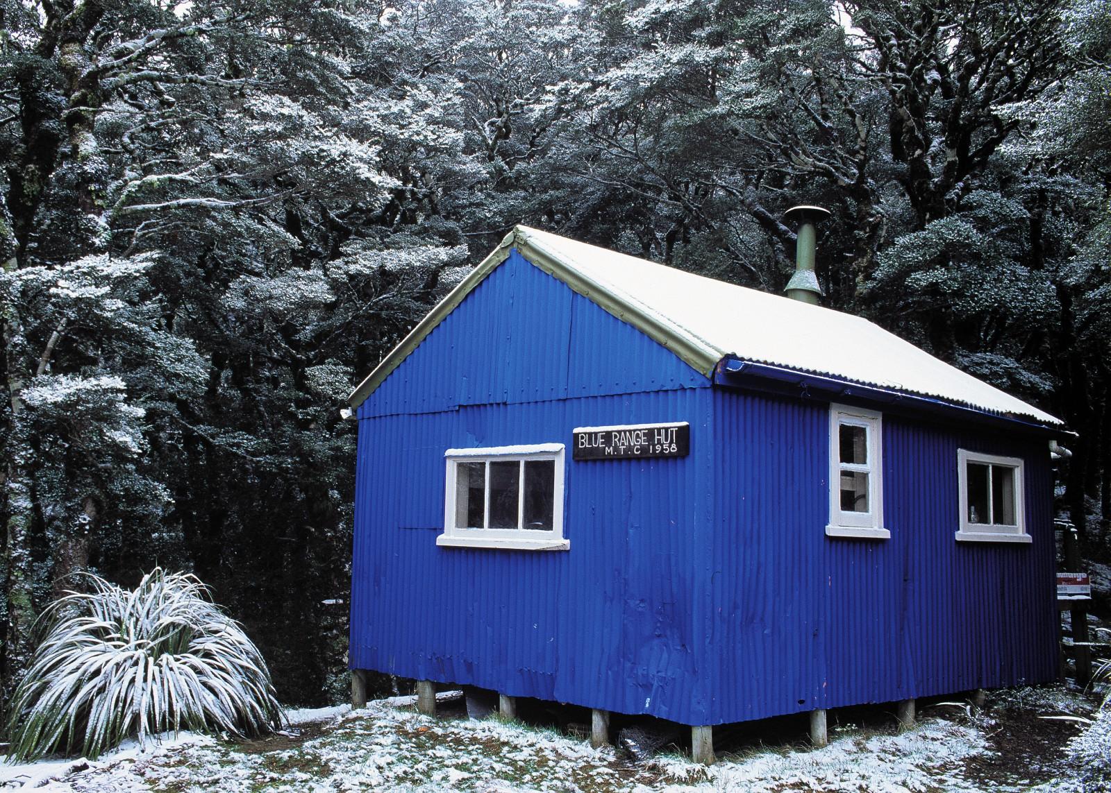 Blue Range Hut, Tararua Forest Park.