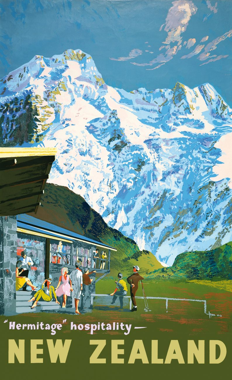 """Du Faur's fear of mountain solitudes over-run by """"civilization""""— exactly the image promoted by the Tourist Department in the 1960s."""