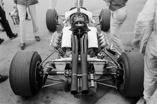 The M2B, was the first Formula One car built by McLaren. It raced in the 1966 season.